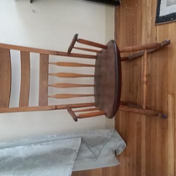 Antique Rocking Chair, unknown