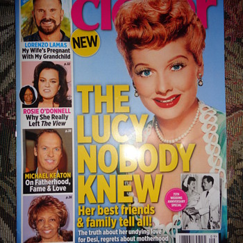 Lucille Ball on Closer Magazine