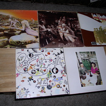 Zep albums - Records