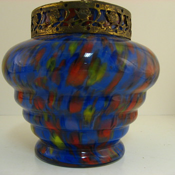 Non kralik semi circle - Art Glass