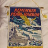 Remember Pearl Harbor Window Banner