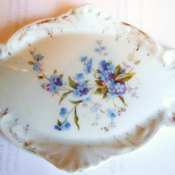 "C. T. Germany 6"" plate porcelain  CUTE!"
