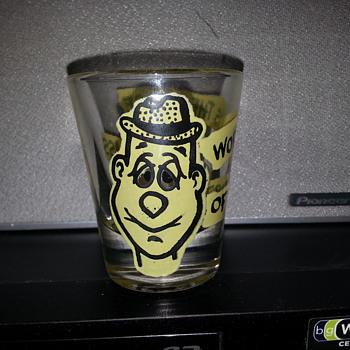 HUMOROUS SHOT GLASS