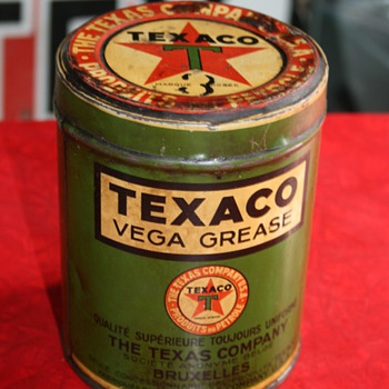 texaco oil can - Petroliana