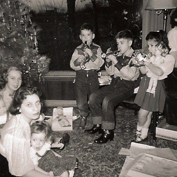 Christmas Past c. 1952 - Photographs