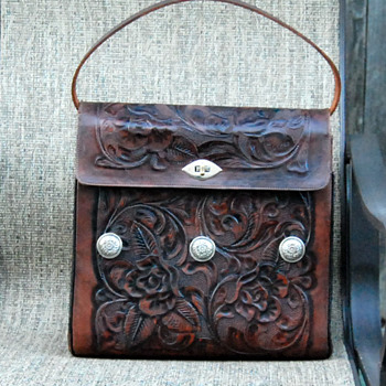 Tooled Leather Handbag in Regard to Valentino97s Posting