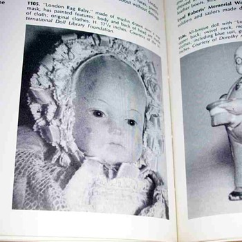 For Wolcott -London Rag Baby Photo  - Dolls