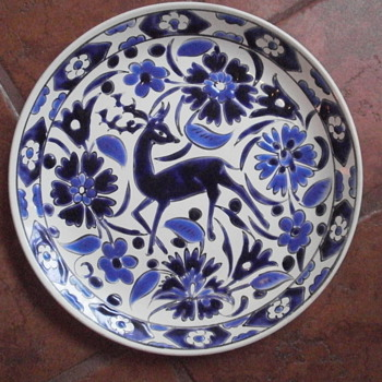 Rhodes Greece Decorative Plate - Art Pottery