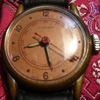 Cimier La Panousse pin pallet Wristwatch circa 1940s