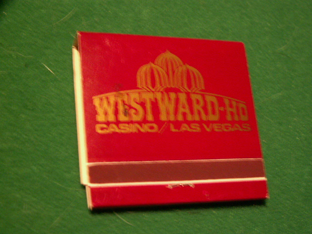 Vintage Westward Ho Casino Las Vegas Nv The Strip