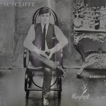 Stu Sutcliffe Exhibit poster-1990