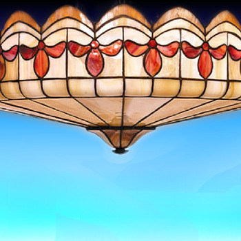 Great leaded dome shade