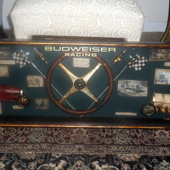 Budweiser Racing Shadow Box
