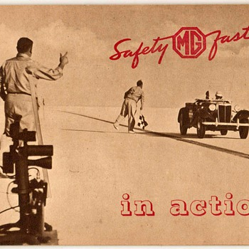 "1953 - ""MG in Action"" Booklet  - Paper"