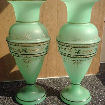 Two (Victorian?) vases