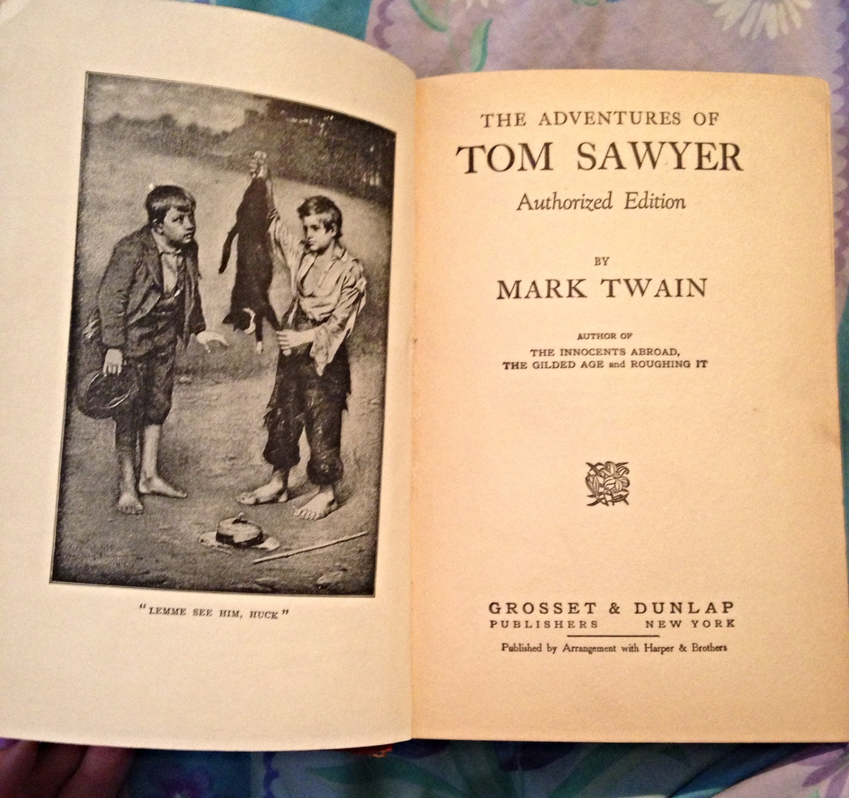an introduction to the story of tom sawyer by mark twain The adventures of tom sawyer mark twain touched upon were all prevalent among children and slaves in the west at the period of this story— that is to.