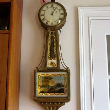 My great, great, great, great grandfather's banjo clock - Clocks