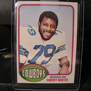 Harvey Martin Rookie