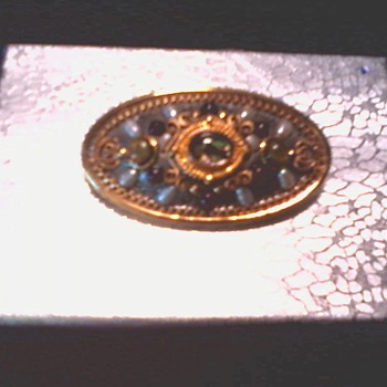 "Michal Golan ""Byzantine"" Hand Crafted Pendant-Brooch / Circa 20th Century"