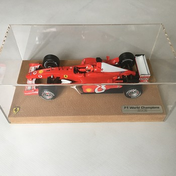 Ferrari f1 model car 2002 - Model Cars