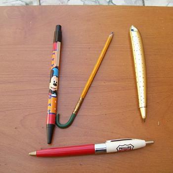 Pens and a Pencil - Pens