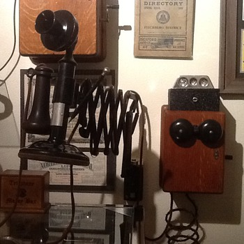 1900's Western Electric Candlestick telephone (working)