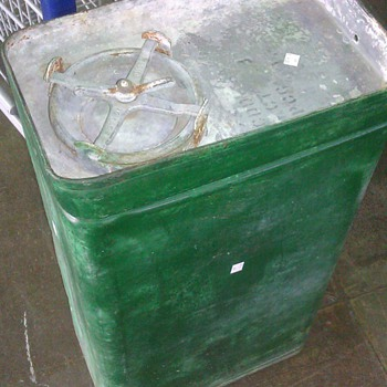 Military Metal Container Of Some Sort
