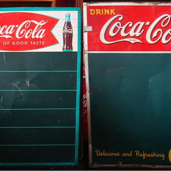 Coca-Cola Menu Boards