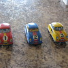West Germany wind up racing car set