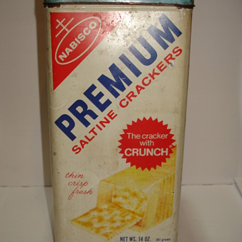 Nabisco Premium Saltine Crackers - 1969