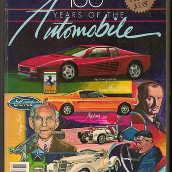 1985 Motor Trend 100 Years of the Automobile - Paper