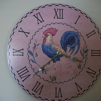 Old Rooster Inn Clock