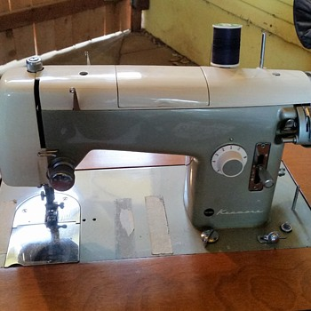 1950's Kenmore 158.521 Domestic Sewing Machine with pattern cams - Sewing