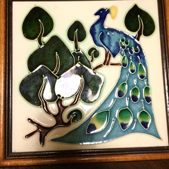 Arts & Crafts reproduction Pilkington's tile + others
