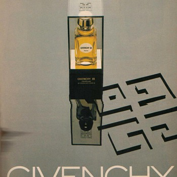 1978 Givenchy Paris Perfume Advertisement