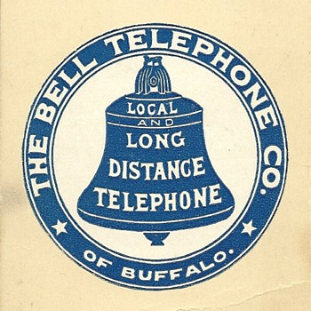 The Bell Telephone Company of Buffalo - Telephones