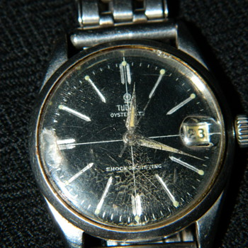 My Dad's Tudor Oysterdate circa 1960 - Wristwatches