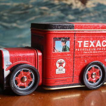 Texaco Bank Tin - Petroliana