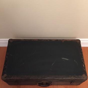 McBrine Baggage trunk.