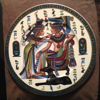 Egyptian Plate