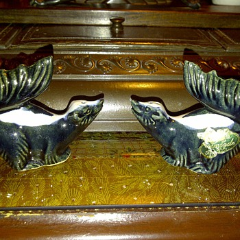 My favorite Rosemeade skunk salt and pepper shakers