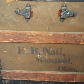 E.B. Nail Mansfield Ohio.