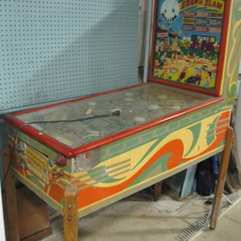 1939 GRANT SAMD PINBALL   ONLY 1800 MADE - Games
