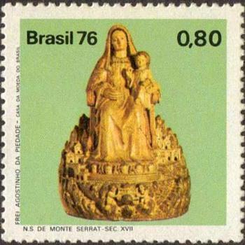 "Brazil - ""Monte Serrat"" Postage Stamp - Stamps"