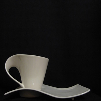 VILLEROY & BOCH  COFFEE CUP AND PLATE