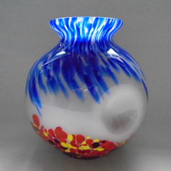 Czech Art Deco Kralik Vase