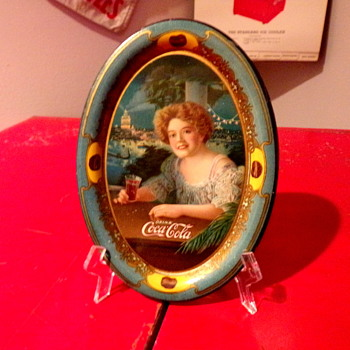 1909 Coca-Cola Change Tray