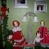 Vintage Christmas Figurines for Window Display