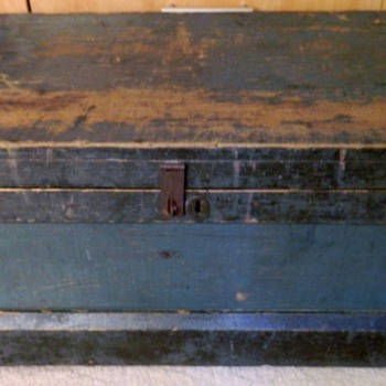 Antique tool box