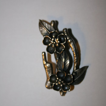 Eidelweiss Silver Brooch OROZ - Fine Jewelry